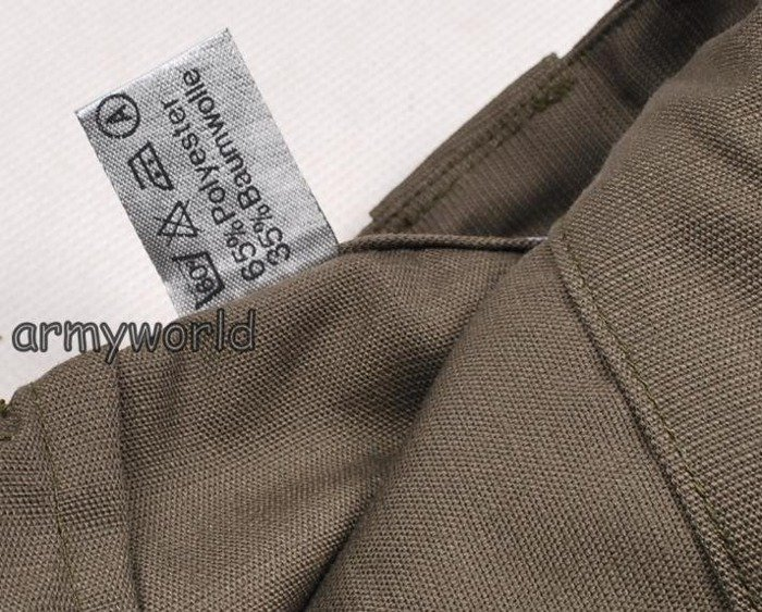 Military Austrian Cargo Trousers Summer Version Original New