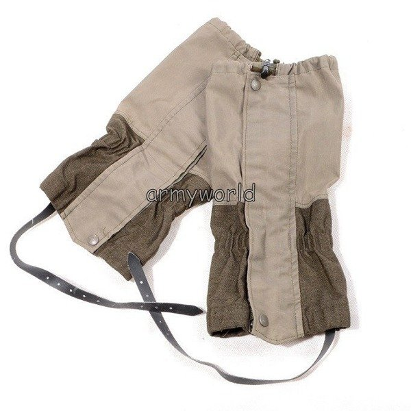 Military Austrian Gaiters Gore-tex MODEL 2 Original Demobil II Quality