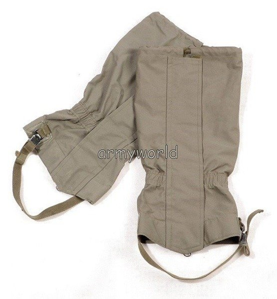 Military Austrian Gaiters Gore-tex Oliv Original Demobil