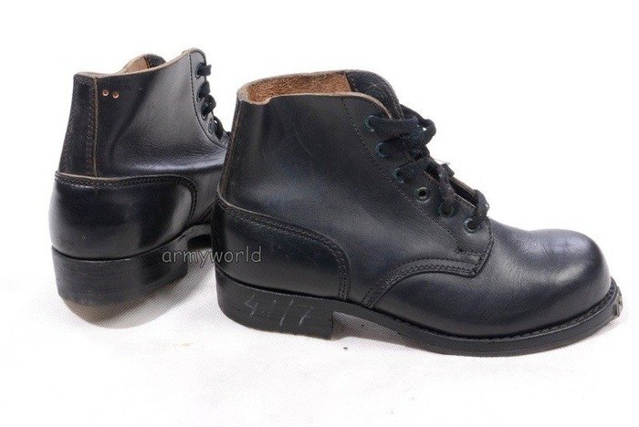 Military Austrian Gala Boots High Hobnailed Original Demobil