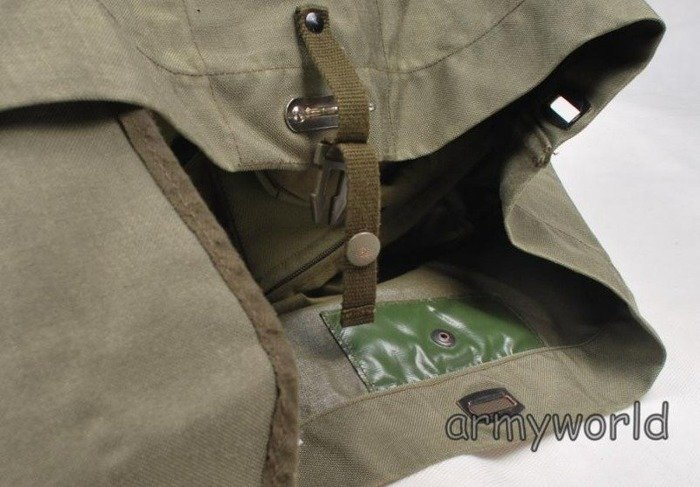 Military Austrian Navy Bag Gummed Original Demobil