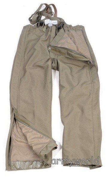 Military Austrian Rainproof Trousers With Lining Gore-tex Original Demobil