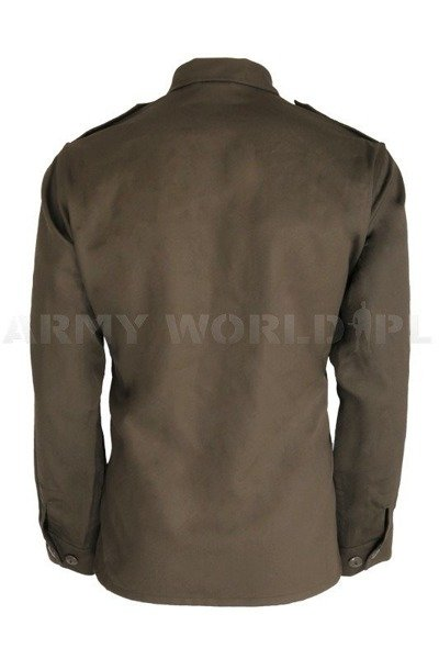 Military Austrian Shirt Thicker Version Original Demobil
