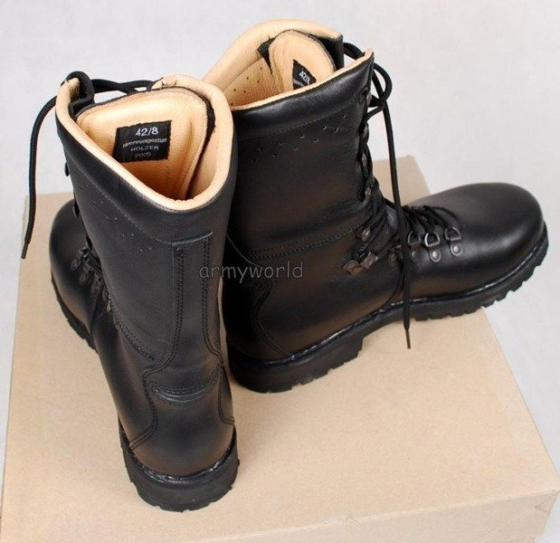 Military Austrian Shoes Winter Version Original New