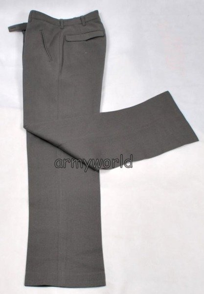 Military Austrian Suit Trousers Gala Thicker Version Grey Original New