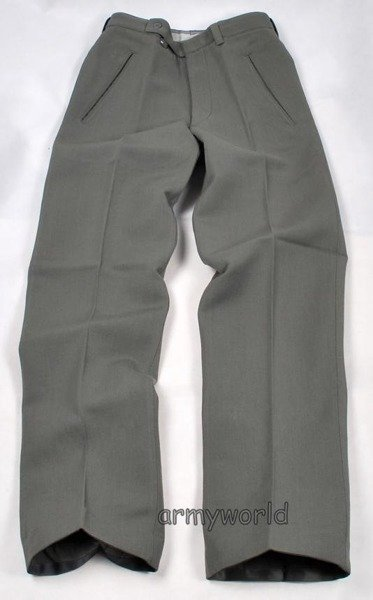 Military Austrian Suit Trousers Gala Thinner Version Grey Original New