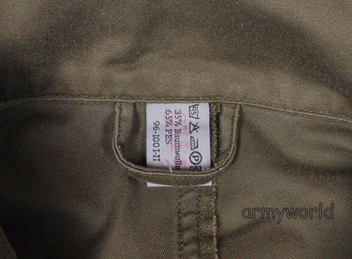 Military Austrian Summer Jacket Original Demobil