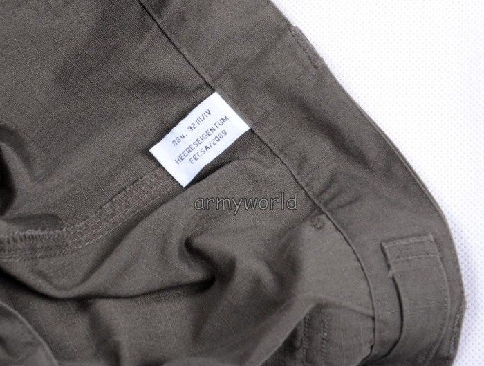 Military Austrian Trousers Ripstop Oliv Original Demobil