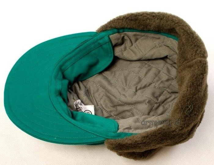 Military Austrian Ushanka Cap Oliv Original New