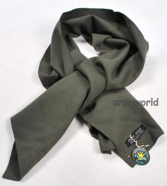 Military Austrian Woolen Grey Scarf Original New