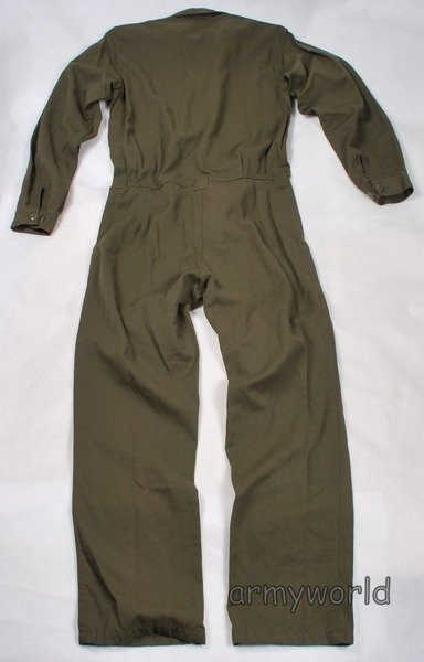 Military Austrian Working Coveralls Oliv Original Demobil