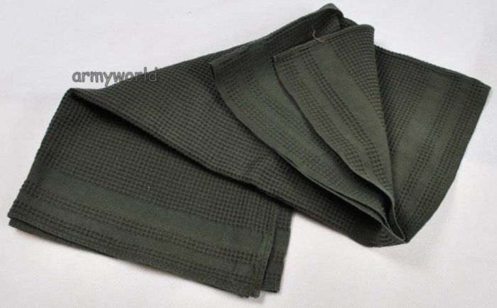 Military Austrian green Cotton Towel Original New