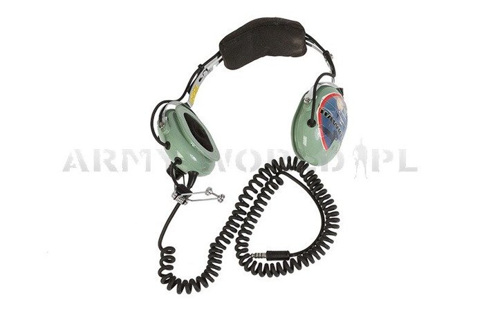 Military Aviation Headset David Clark Model H10-76 - Original Demobil