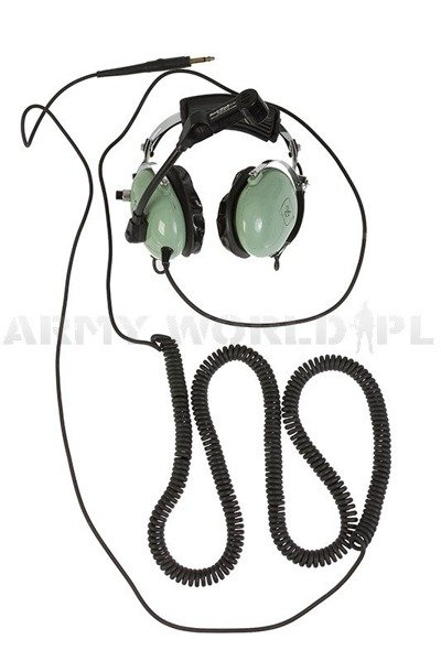 Military Aviation Headset David Clark With Microphone M-1A - Original Demobil