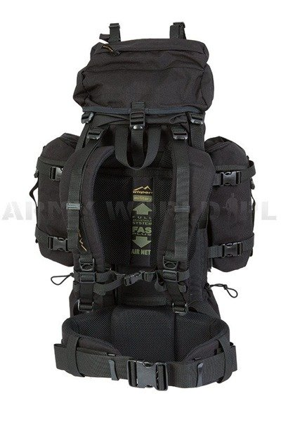 Military BACKPACK WISPORT Reindeer 55 BLACK - NEW