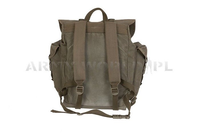 Military Backpack Bundeswehr 25 Liters Oliv Older Version Demobil