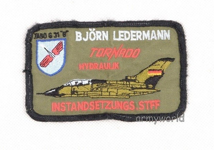 Military Badge Bundeswehr TORNADO Original Demobil SecondHand
