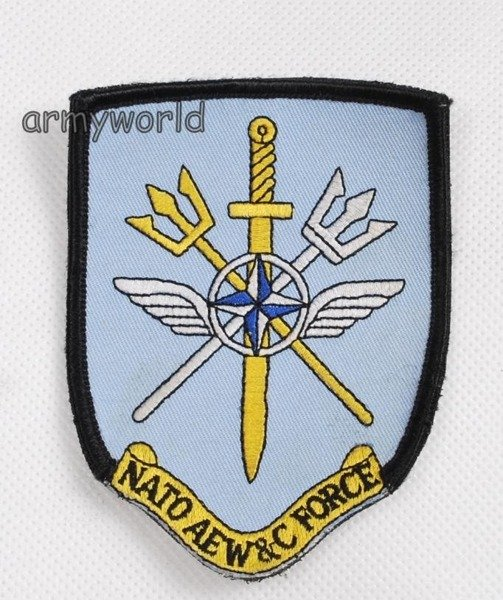 Military Badge NATO AEW&C FORCE Original Demobil