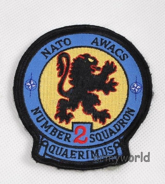 Military Badge NATO AWACS II DIVISION Original Demobil