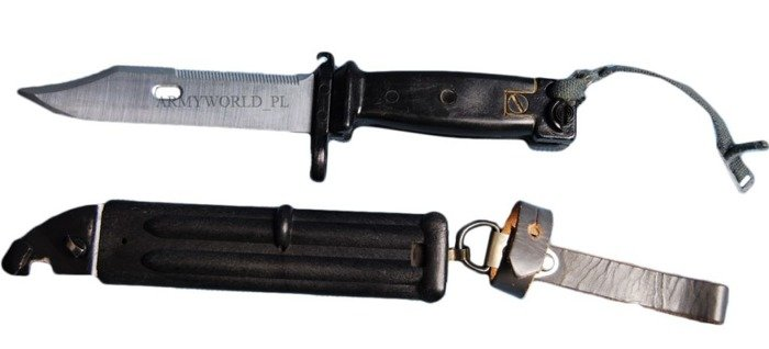 Military Bayonet Bundeswehr For AK47; AK 47; AK-47 Original Demobil