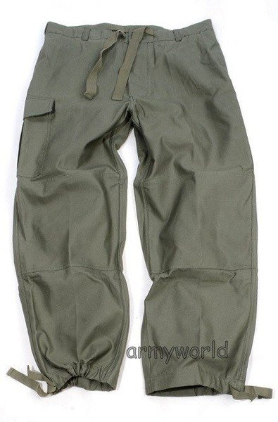 Military Belgian Cargo Trousers Nyco Oliv Original New MODEL II