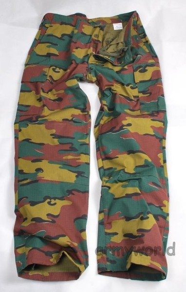 Military Belgian Cargo Trousers Original New
