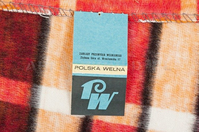 Military Blanket Polish Art. No.1817-7B Original - New