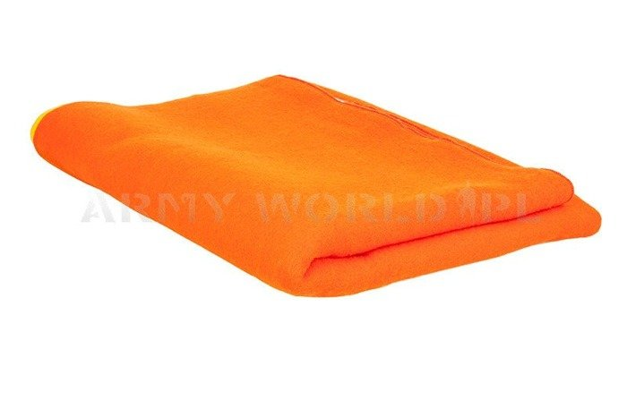 Military Blanket Polish Art. No. 25 Orange-Yellow Original - New