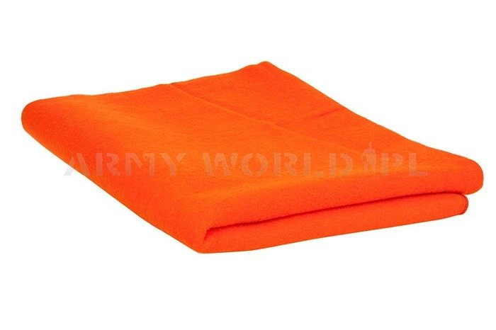 Military Blanket Polish Art. No. 25A Orange Original - New