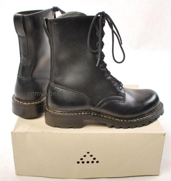 Military Boots Belgian Older Model Original New