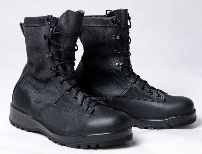 Military Boots Belleville Black Gore-tex Original US Army II Quality