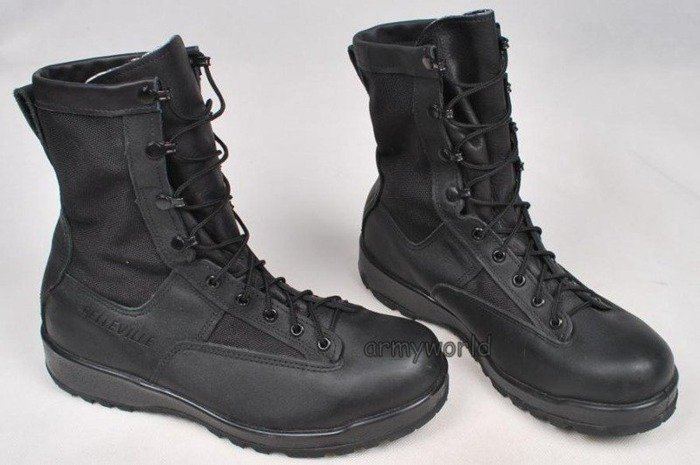 Military Boots Belleville Black Model 700V Gore-tex Original US Army New