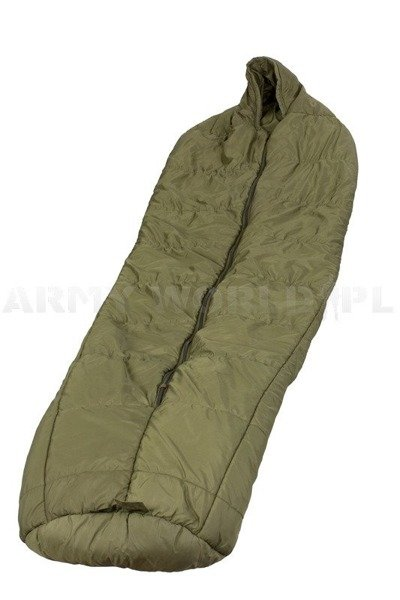 Military British Arctic Sleeping Bag Original Oliv Demobil