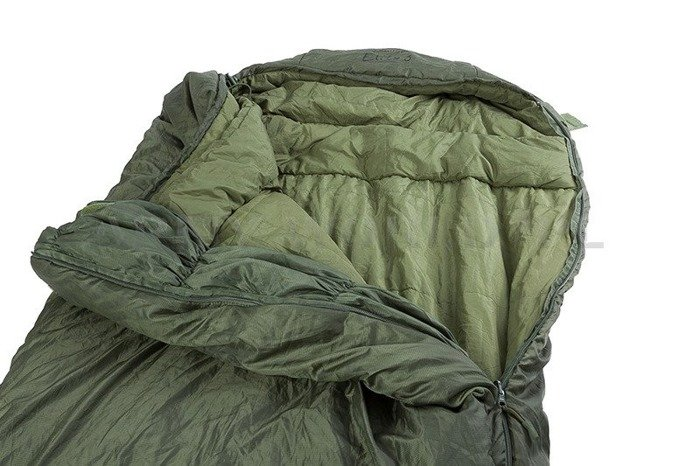 Military British Sleeping Bag Softie Elite 3 Mummy Type Snugpak Oliv Original Demobil