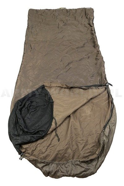 Military British Summer Sleeping Bag  Snugpak Jungle Bag Oliv Original Used