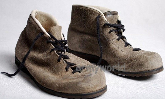 Military Brown Suede Shoes Bundeswehr Original New