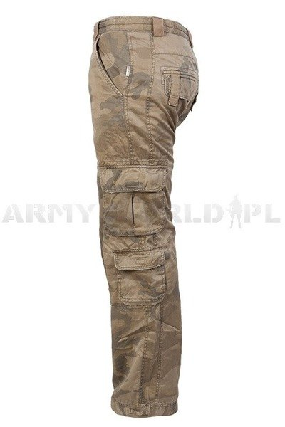 Military Cargo Pants Desert Original Used