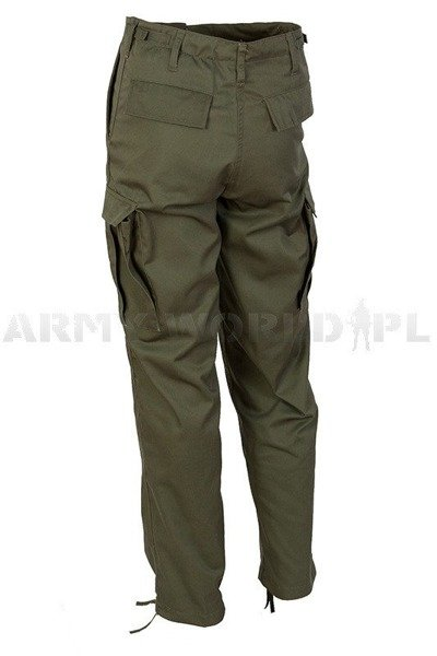 Military Cargo Pants  Ranger Type BDU Oliv New