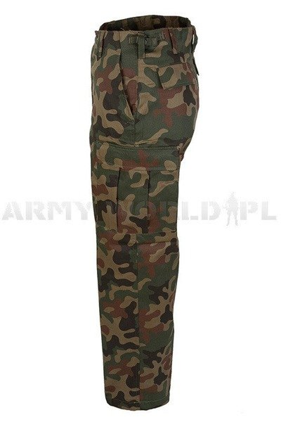 Military Cargo Pants Ranger Type BDU PL Camo New
