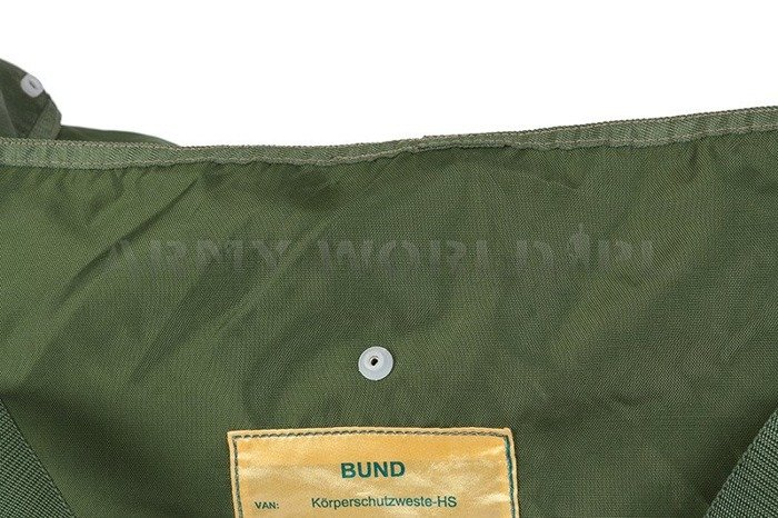 Military Cover for Bulletproof Vest Bundeswehr Original Used