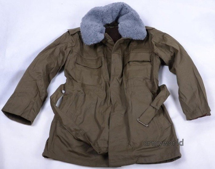 Military Czech Field Jacket With Liner Oliv Original
