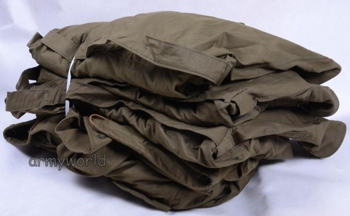 Military Czech Field Jacket With Liner Oliv Original Set Of 5 Pieces