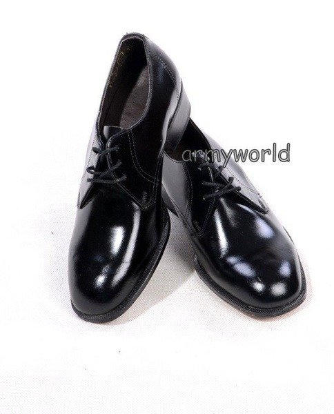 Military Czech Gala Shoes Original Black Model 2 New