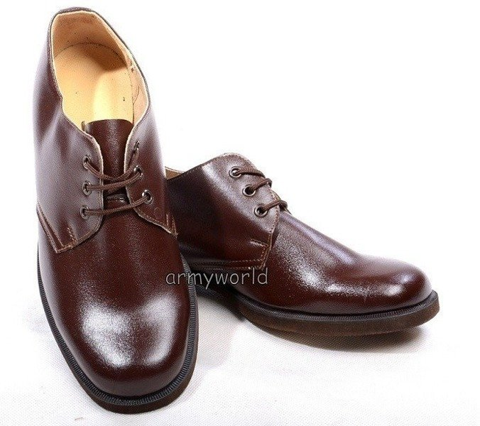 Military Czech Gala Shoes Original Brown Model 1 New