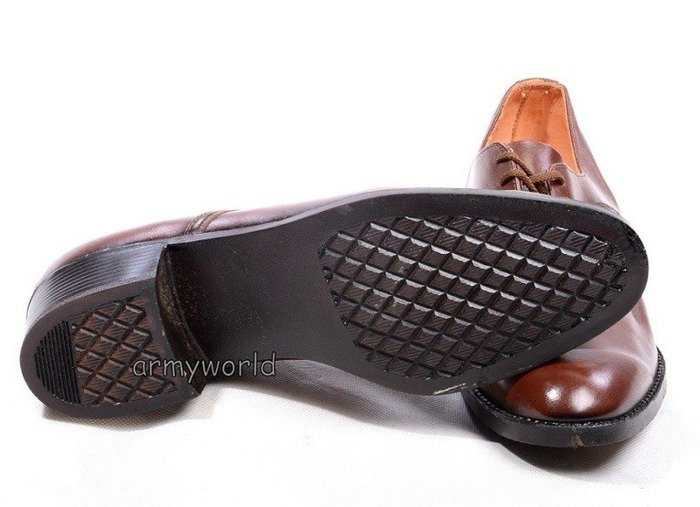 Military Czech Gala Shoes Original Brown Model 3 New