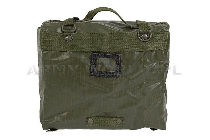 Military Czech Shouder Bag Rubberised Original Used