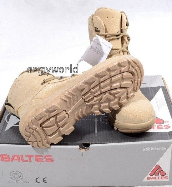 Military Desert Shoes Baltes Test Version New Art. nr 110675