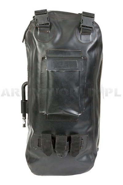 Military Diving Rubber Backpack FirceFin Used
