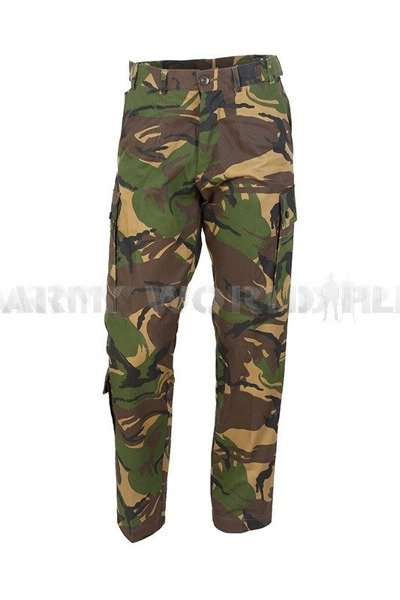 Military Dutch Cargo Trousers Camouflage DPM Origina New