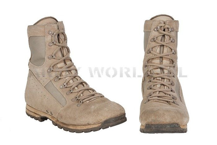 Military Dutch Desert Shoes Meindl Actual Version Original Demobil